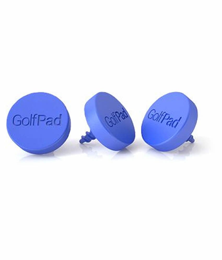 GolfPAD GPS TAGS blauw