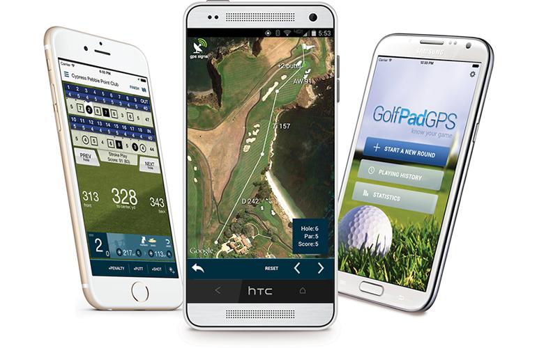 Premium Golf Pad GPS App