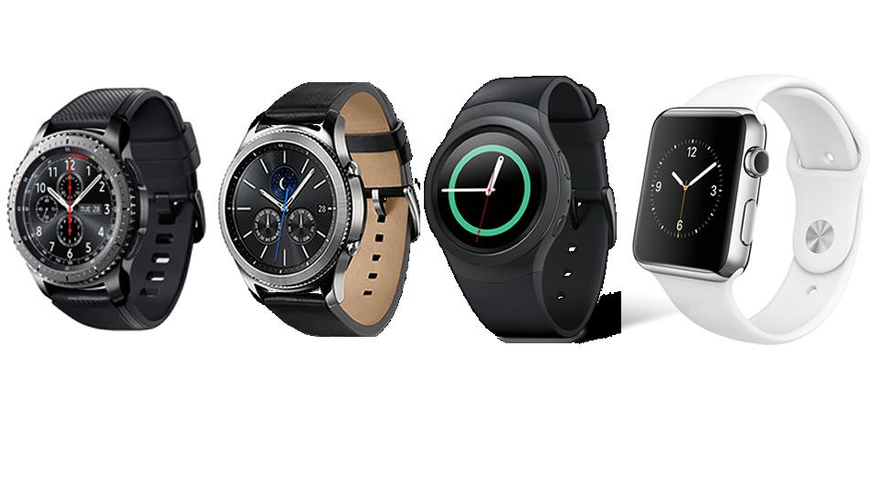 Golf GPS smartwatches samsung apple