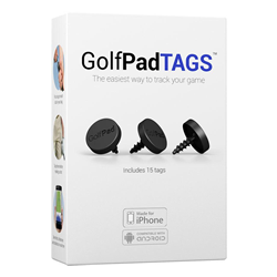 GolfPAD Tags for Android and IOS