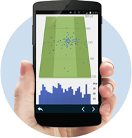 Golf PAD GPS App statistics