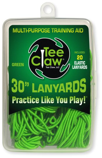 Teeclaw Lanyards Green