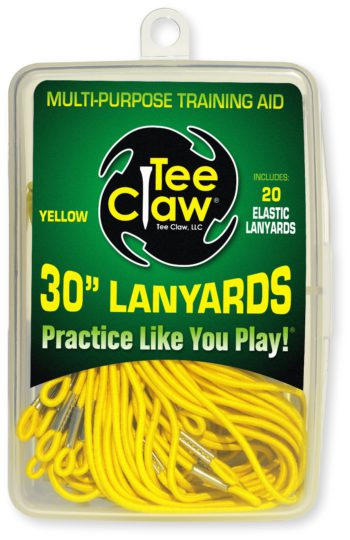 Teeclaw Lanyards Yellow